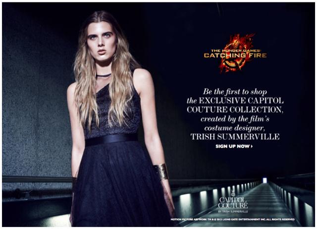 A jelmeztervező Kapitólium ihlette couture kollekciója már kapható a net-a-porter.com-on.
