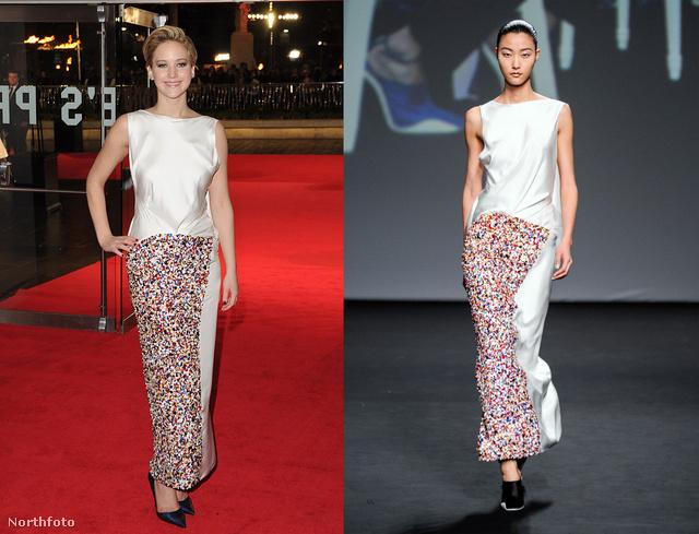 Jennifer Lawrence mostanában rövid hajával szerepel a híroldalakon, a mi posztunkba a Christian Dior ruhája miatt került be.