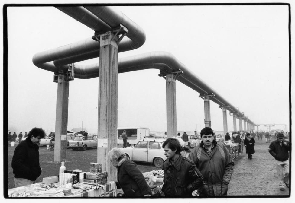 Piac. Ózd, 1991