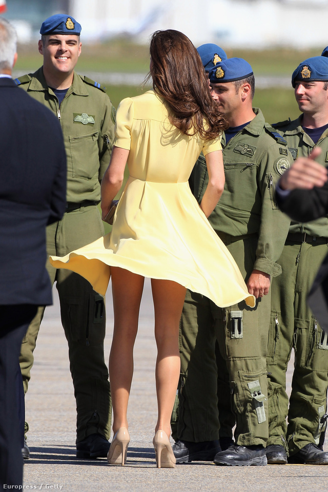 A hercegné egyik első villantása 2011-ben.