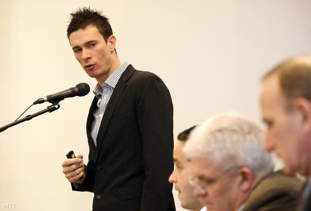 Balogh Gábor miniszterelnöki főtanácsadó a Magyar Diáksport Szövetség elnöke
