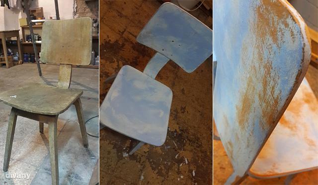 Így készül a vintage bútor. Galéria nyílik - kattintson!