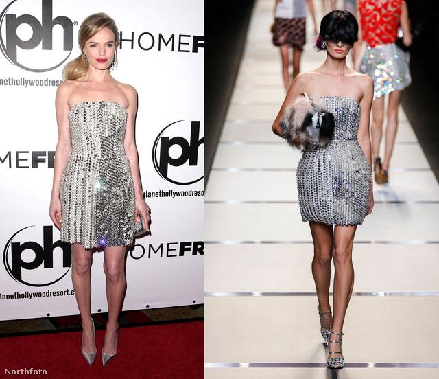 Kate Bosworth a jövő tavaszi-nyári Fendiben.