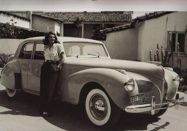 1942 Lincoln Continental RitaHayworth