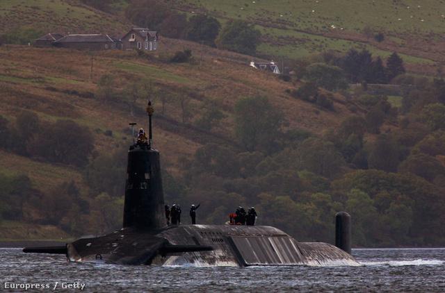 Trident atom-tengeralattjáró Skóciában