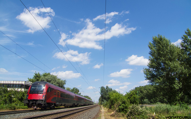 railjet vonatguru