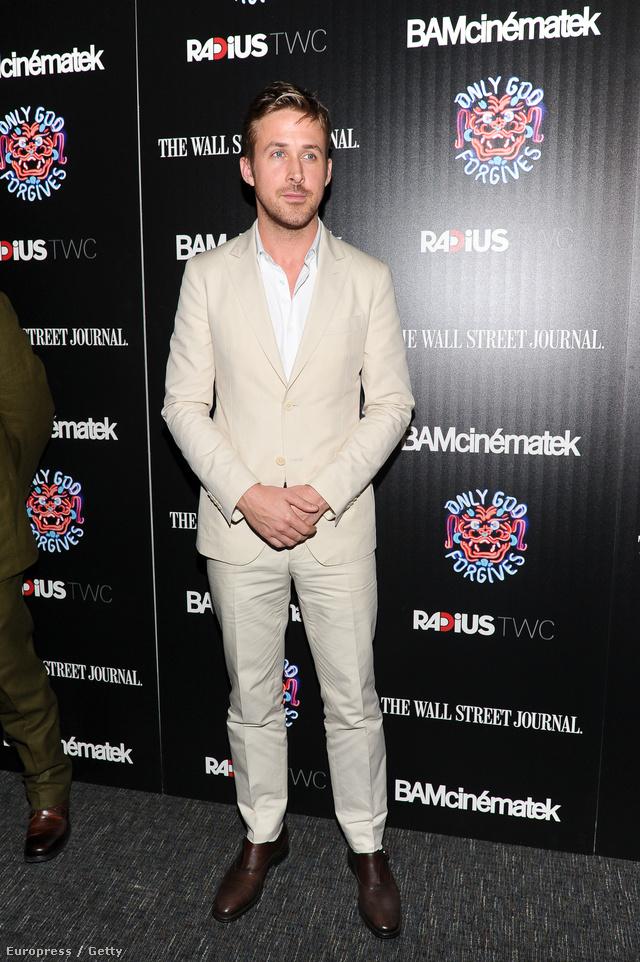 Vegyen példát Ryan Goslingról.