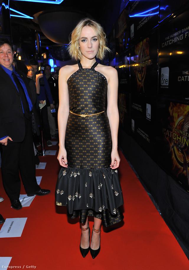 Jena Malone egy torontói filmpremierre érkezett Abodi Dóra ruhájában.