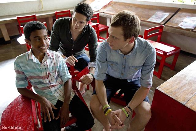 Rob és Paul Forkan Srí Lankán.
