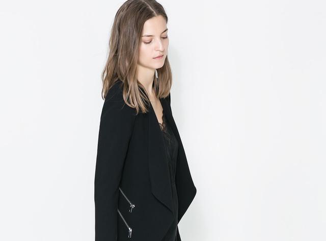 Zara blézer 25995 forint: szép darab, igaz, nem olcsó.