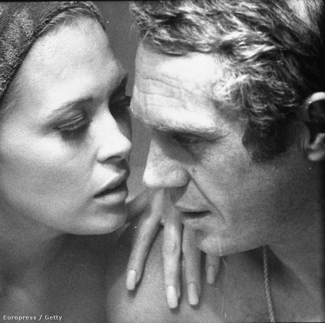 Steve McQueen 1967-ben Faye Dunawayjel próbál egy jelenetet