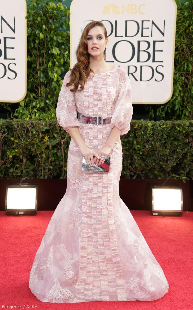 Palvin Barbara a Golden Globe díjátadóról sem hiányzott idén.