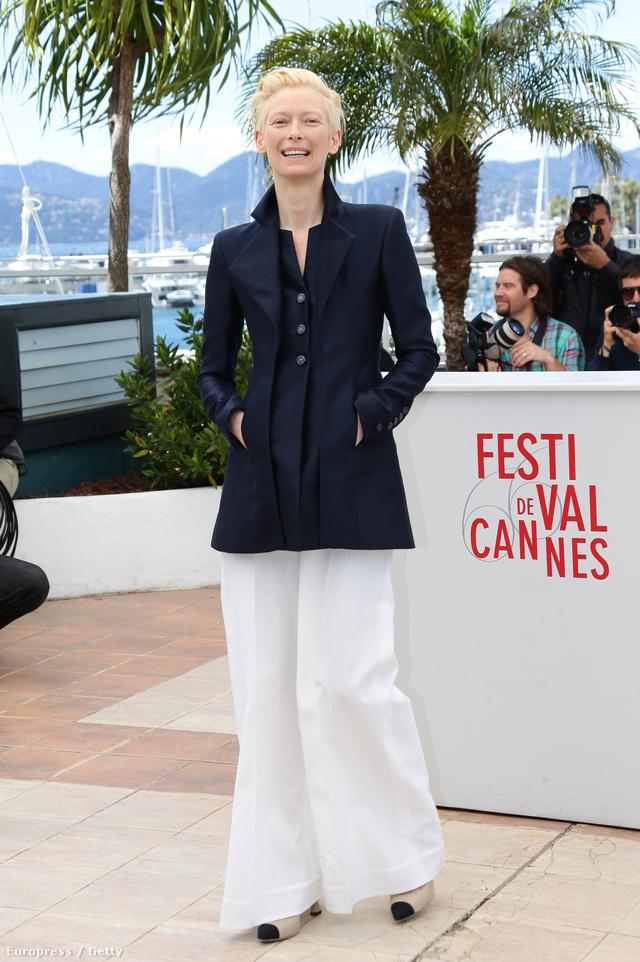 Tilda Swinton Cannes-ban