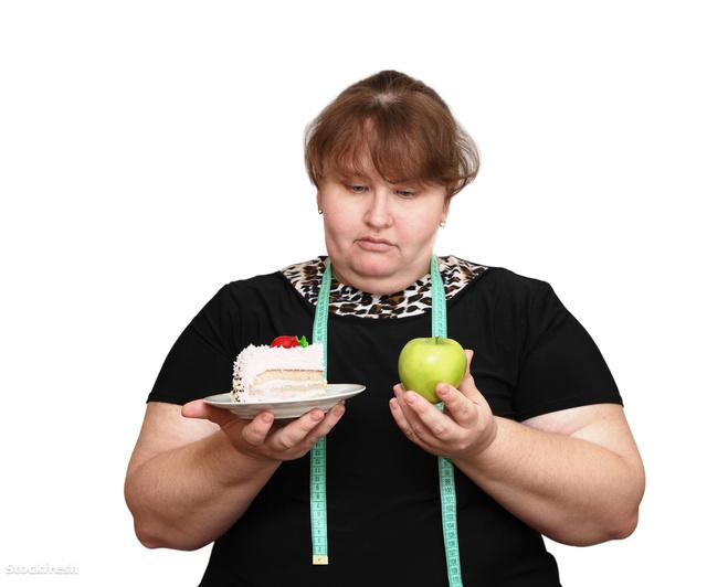 stockfresh 672738 dieting-overweight-women-choice sizeM