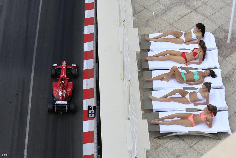 A Monacói GP egyetlen képben