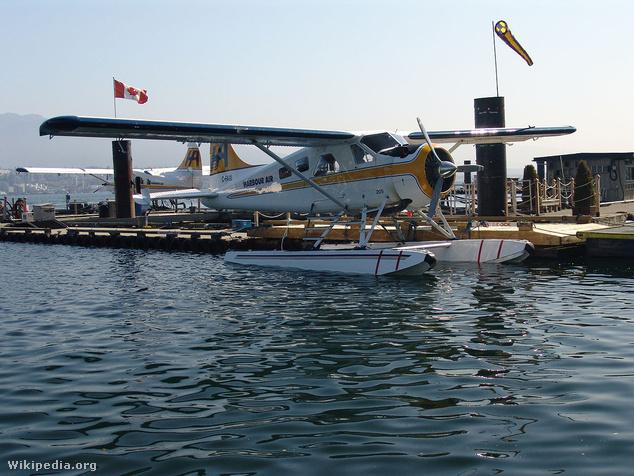 Képünk csak illusztráció, ez itt egy DHC–2 Beaver típusú vízirepülőgép