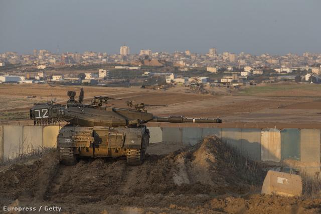 A Gázai-övezetet Izraeltől elválasztó határkerítés