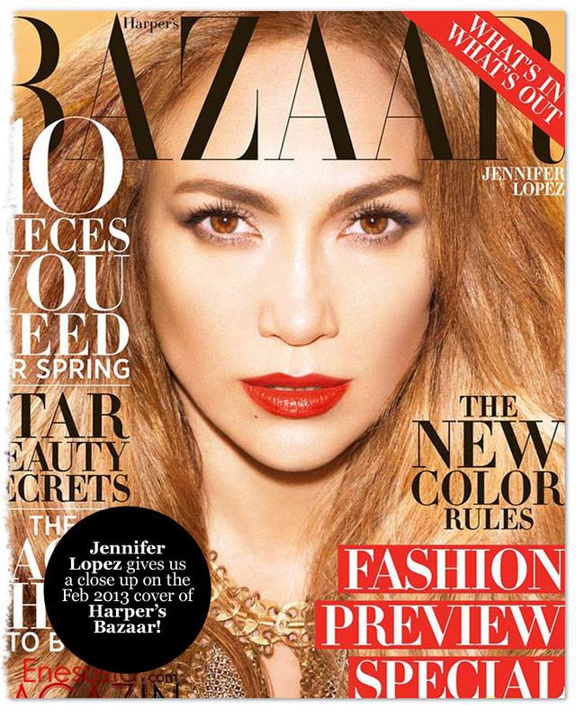 Jennifer Lopez címlapja nem tette vonzóvá a Harper's Bazaart.