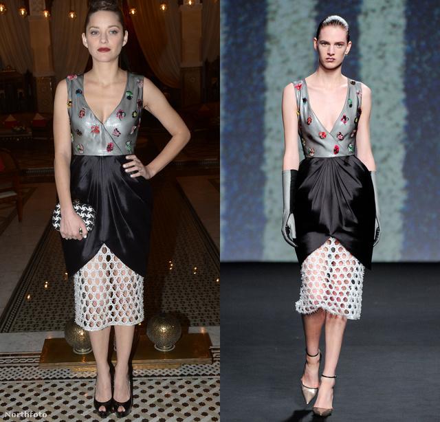 Ez a ruha szerintünk a gyöngyhalászokat idézi: a kagylóformájú szoknya és a hálós rész miatt.