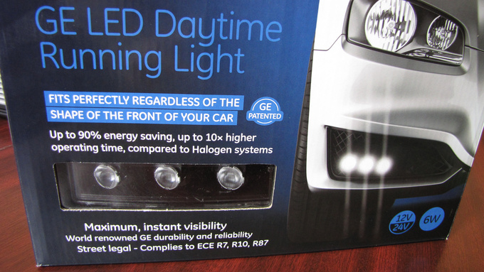 GE's daytime running lights rotate a lot