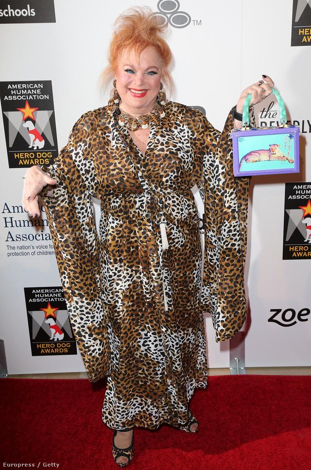 Nem leszünk vagányabbak a leopárdmintás cuccoktól, Carol Connors énekesnő is inkább cuki, mint dögös ebben a szettben.