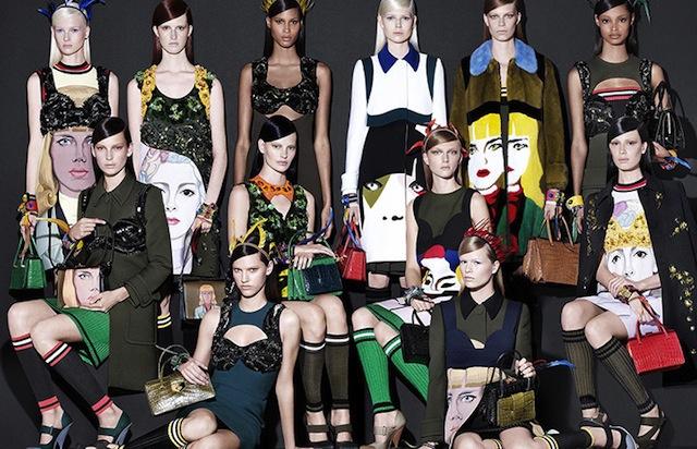 Egyre bevállalósabb a Prada, Malaika Firth  és Cindy Bruna színes bőrük ellenére helyet kaptak a kampányban.