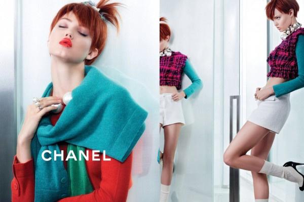 Újabb fiatalos kampány a Chanelnél.