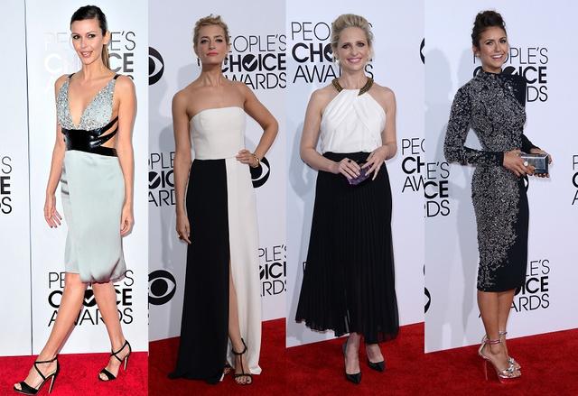 Csak páran a legjobbak közül: Olga Fonda, Sarah Michelle Gellar, Beth Behrs és Nina Dobrev.