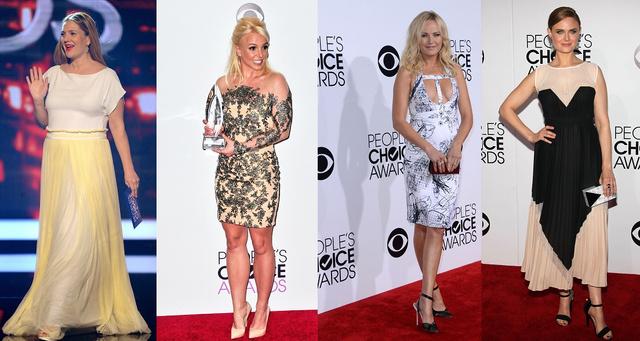 És a legrosszabbak: Drew Barrymore, Britney Spears, Malin Akerman és Emily Deschanel.