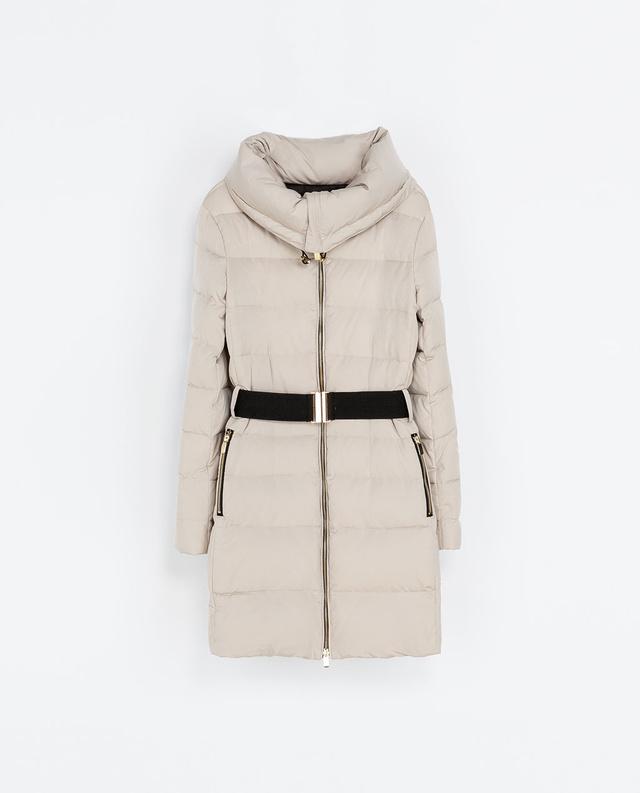 Hasonló kabát a Zaránál 22995 Ft-