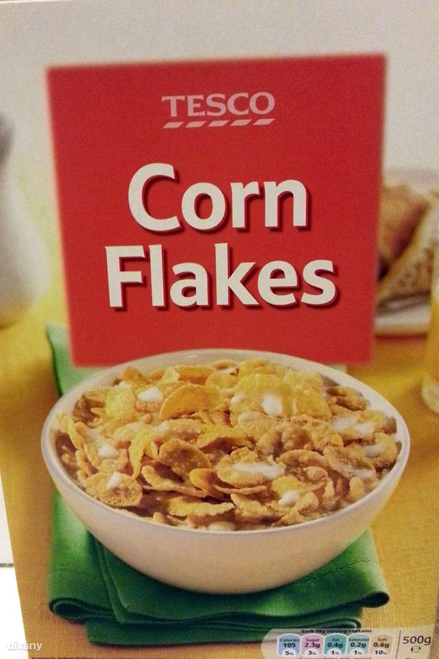 TS Corn Flakes jó nagy dobozban