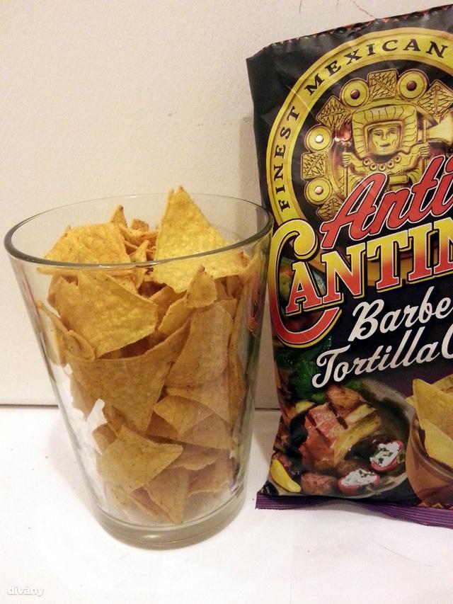Ennyi fért a csomagba                          Cantina  tortilla chips - 200 gramm
