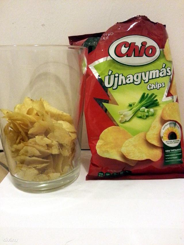 Chio Újhagymás - 75 gramm alig félig van