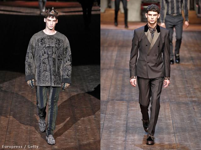 Patinszki Misa is feltűnt a középkort idéző Dolce & Gabbana kifutóján.