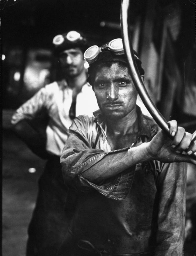 1962-től Spencer Afrika helyett inkább már  London pörgését akarta fotózni. A képen egy bevándorló munkás Bradfordból.