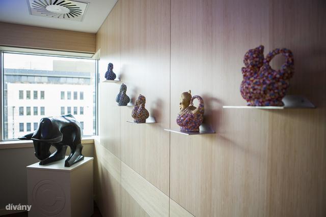 Havadtőy Sámuel kivándorolt magyar kortárs képzőművész műalkotásaival rendezte be irodáját a Concorde Alapkezelő.                         Ezen alkalomból a Budapest, XII. Alkotás utca 50-szám alatt lévő irodában kerültek bemutatásra a műtárgyak. Kacsák és egy a tőzsdei mozgásokat szimbolizáló bika.