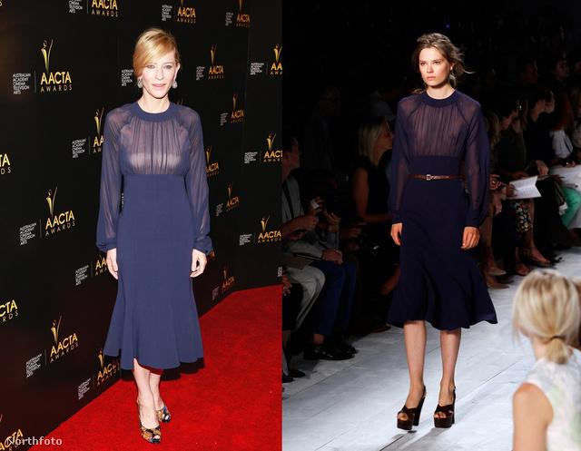 Cate Blanchett Michael Kors-tól választott.