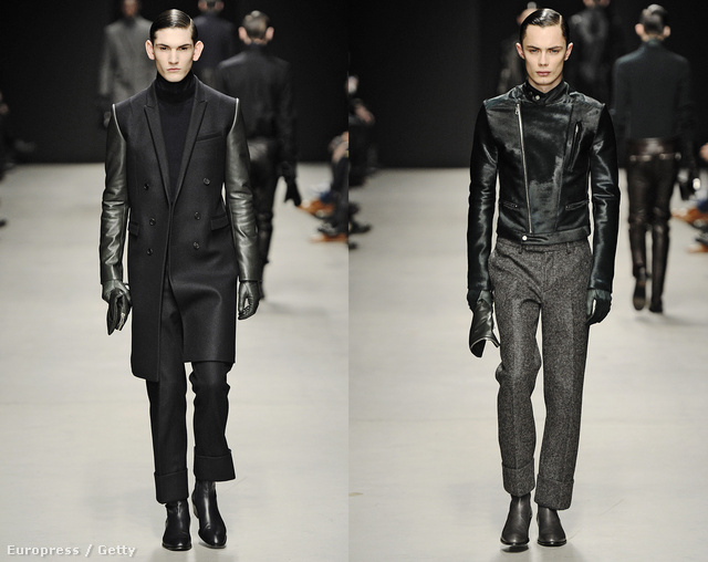 Juun J kollekciójában főleg a fekete szín dominált, mégsem volt unalmas.