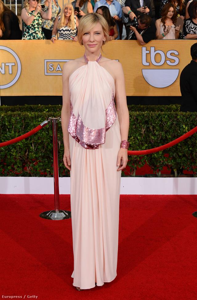 """Cate Blanchett ezen a 20. alkalommal megrendezett gálán a Givenchy """"reklámarca"""" volt."""