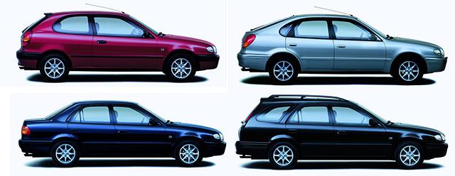 Totalcar Magazine  Used Cars  Toyota Corolla E11 13 1998 and