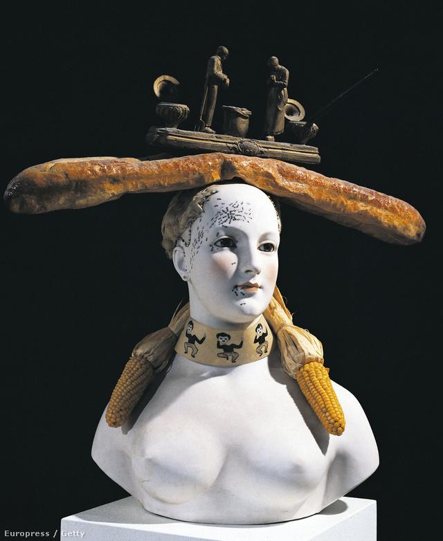 Egy nő retrospektív mellszobra, 1933.