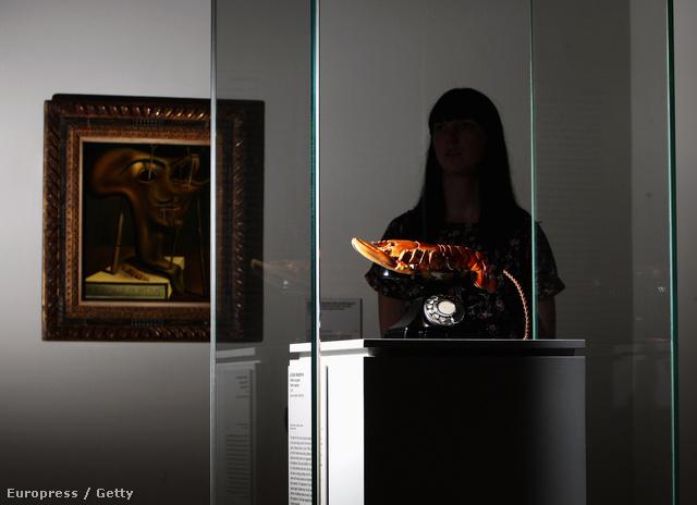 Dalí homártelefonja a múzeumban várja a látogatókat.
