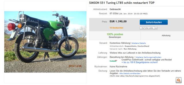 SIMSON S51 Tuning LT85