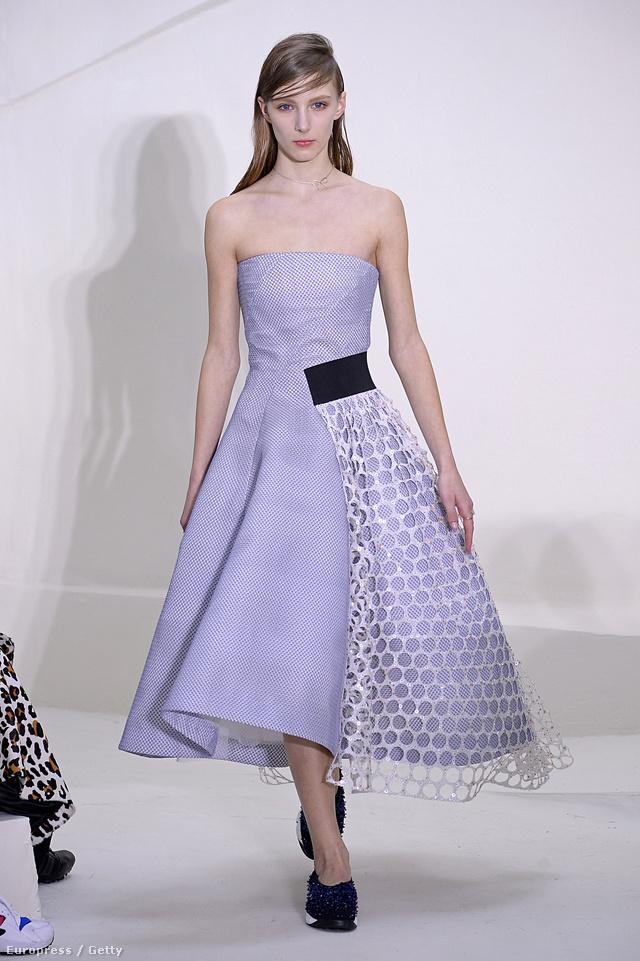 Bogi Sarfan is helyet kapott a Dior bemutatón.