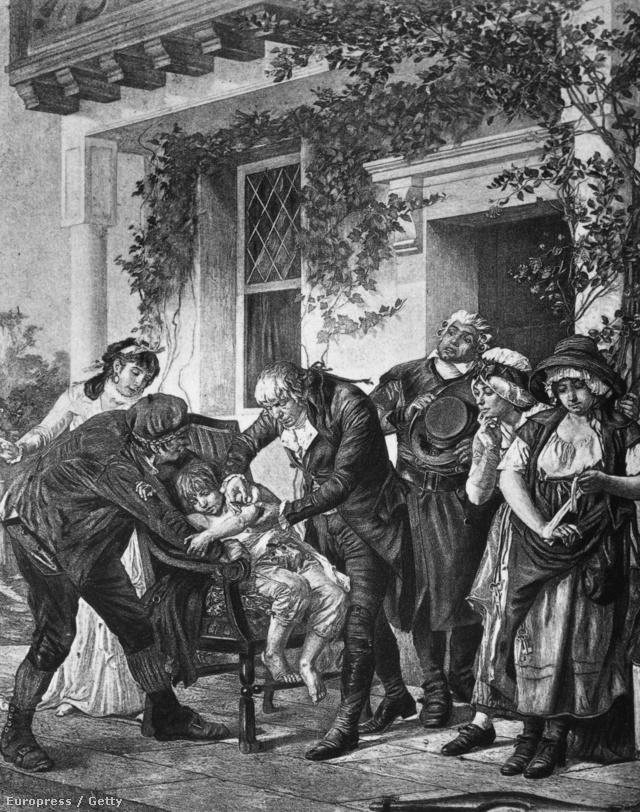 Edward Jenner és az első védőoltás
