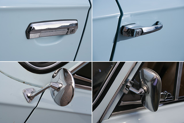 Fiats also gained this kind of pull-up handle later. It is more friendly to pedestrians in a hit case