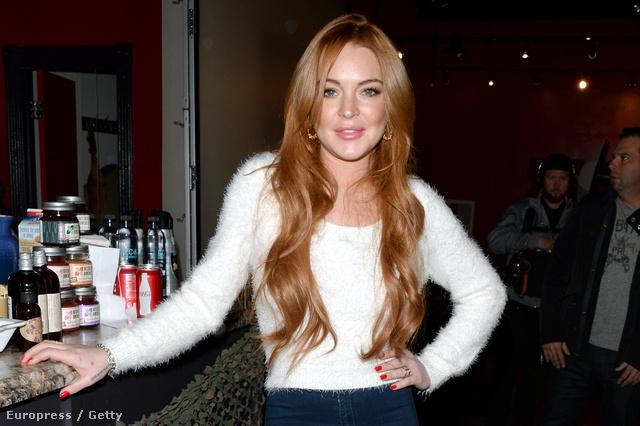Lindsay Lohan a Sundance filmfesztiválon