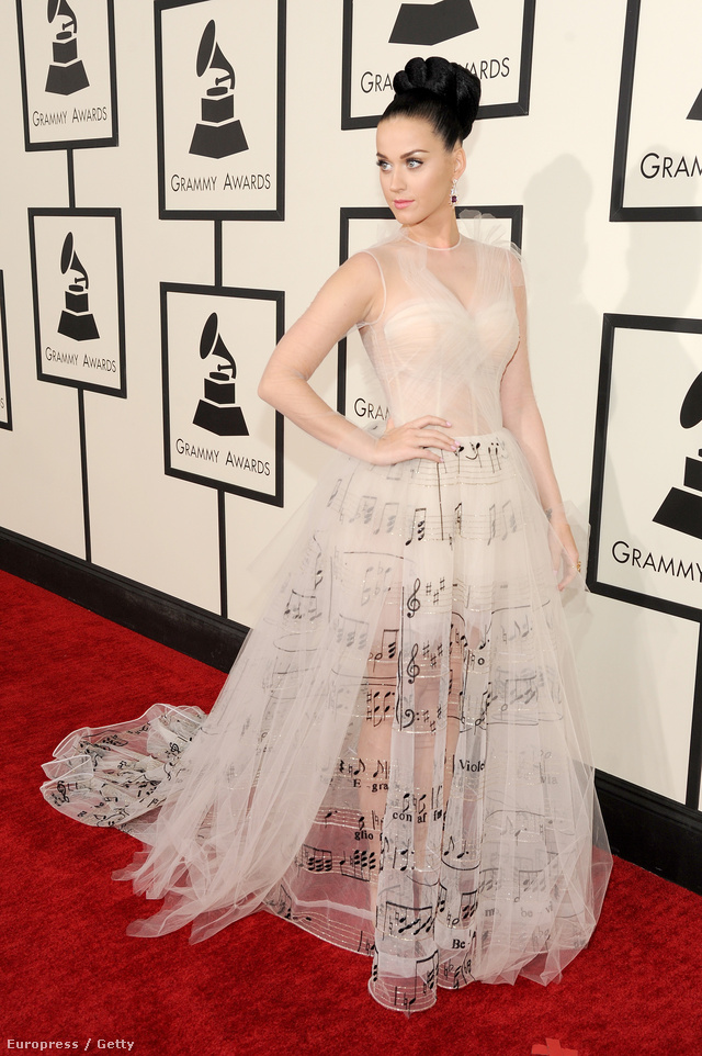 Katy Perry Valentino hírnevét öregbítette.