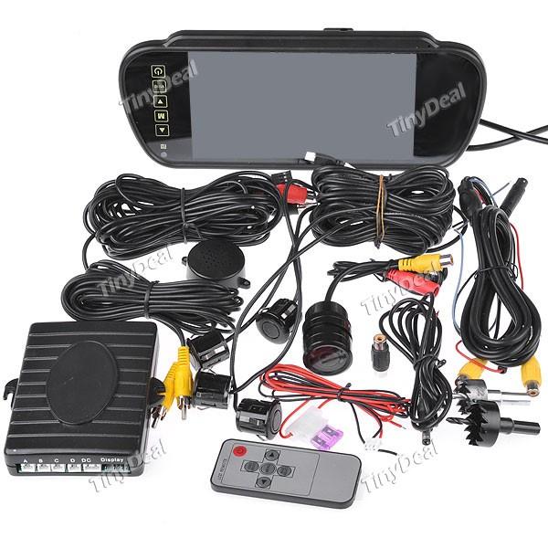Parking camera with sensors