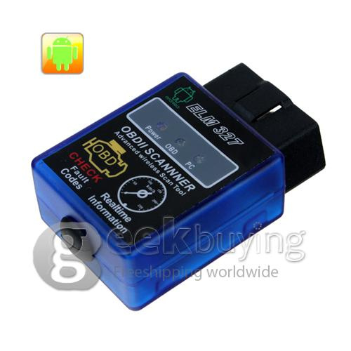 Bluetooth OBD scanner for cars with OBD system